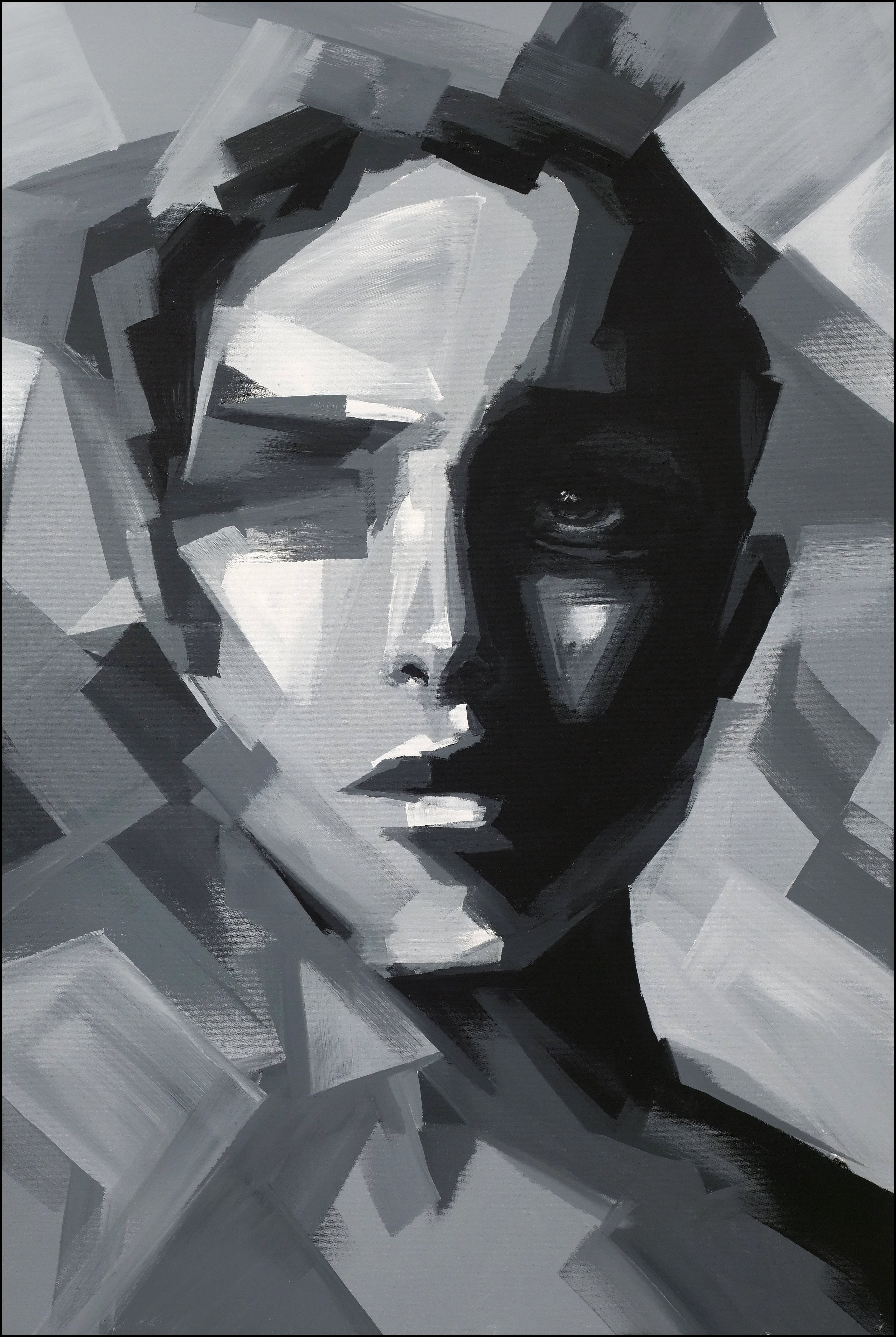 Abstract portrait no.ma2011
